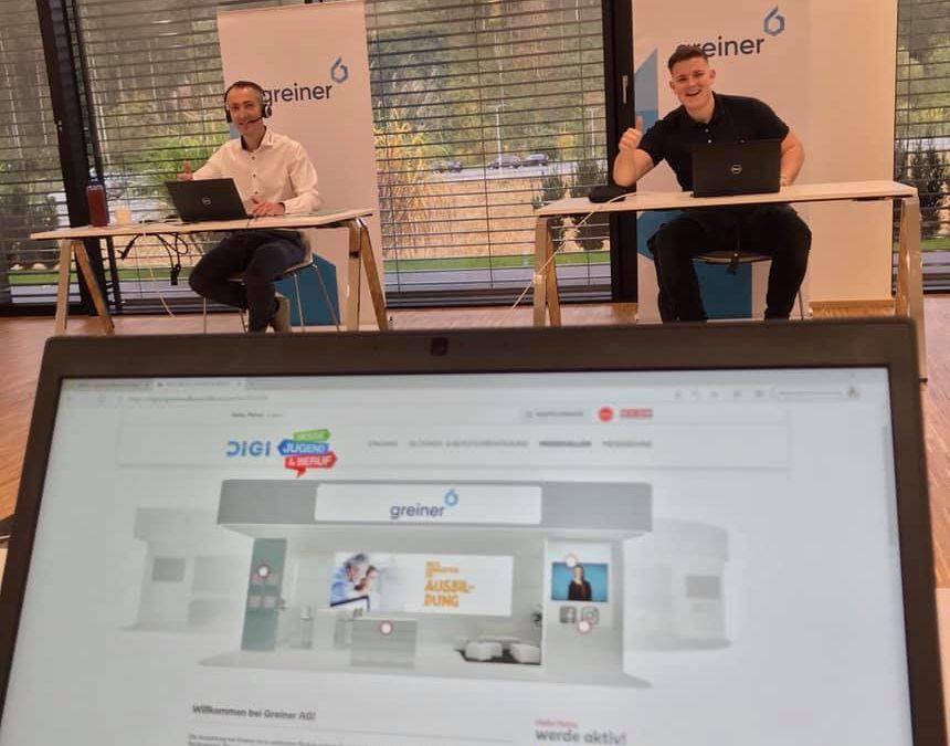 20. – 24.10.2020 Virtuelle Messe Jugend & Beruf