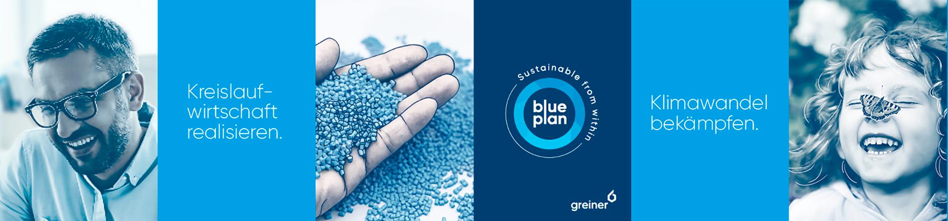 The blue Plan- Nachhaltigkeitsstrategie bei Greiner